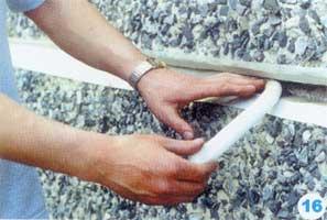 Заделка швов бумажной лентой