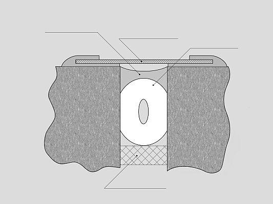 пластиковая шпонка деформационных швов: