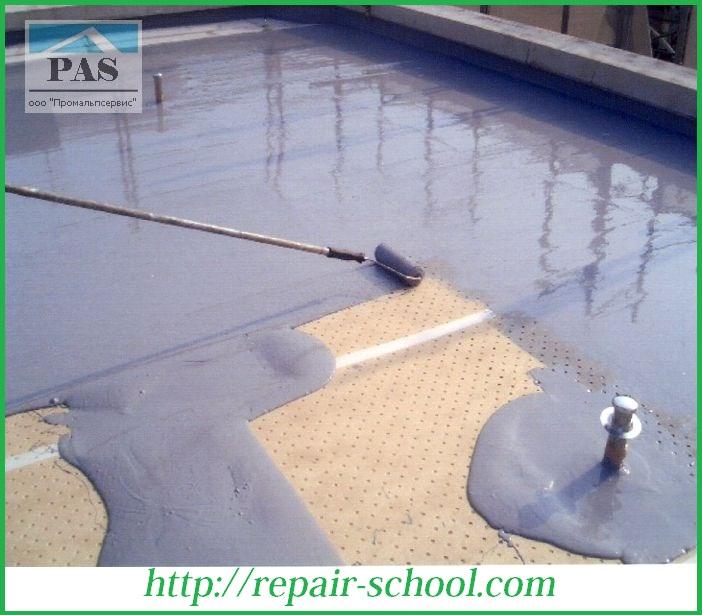 Мастика гидроизоляция для ванной и бассейнов наливные полы витонит